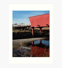 Covered Bridges of Madison County Art Print