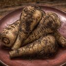 Parsnips by Dave Milnes