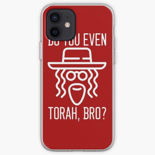 Do You Even Torah, Bro? - White iPhone Soft Case