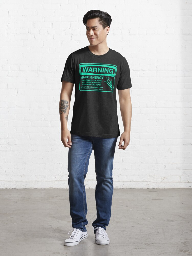 Alternate view of Warning: Mako Energy Essential T-Shirt