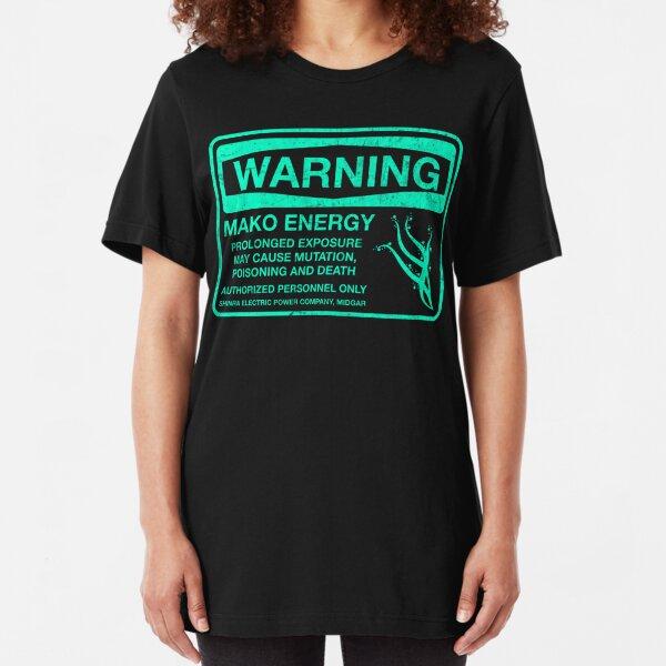 Warning: Mako Energy Slim Fit T-Shirt