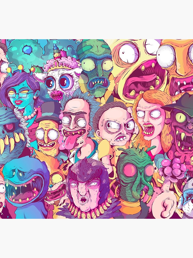 Rick and Morty - Interdimentional Doodle by fernandonunes