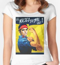 LET'S ROCK! Women's Fitted Scoop T-Shirt
