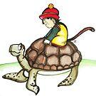 Turtle Ride by Katz Karma