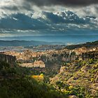 Light on Cuenca and the Valley by Ralph Goldsmith
