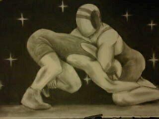 Wrestling by Garrett Nichols