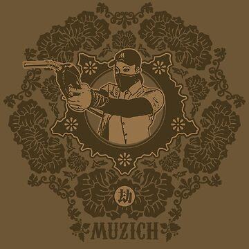 Robbery tee by Muzich
