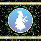 Jack Frost - Snowy Night Fresco by Hypnogoria