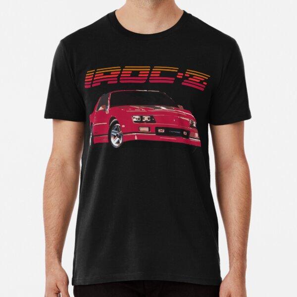 1980er Jahre Red Chevy Camaro IROC-Z Z28 Premium T-Shirt