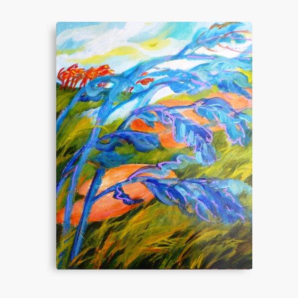 Golf series #4 - Count the wind Metal Print