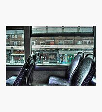 The Bus Home Photographic Print