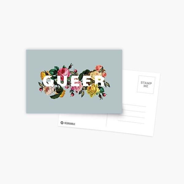 Queer (Antique Roses) Postcard