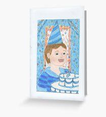3rd Birthday Boy Greeting Card