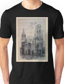 Auguste Lepère Façade of Rouen Cathedral by Auguste Lepère Unisex T-Shirt