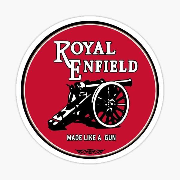 Logotipos de motos clásicas - Royal Enfield Pegatina