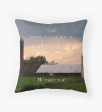 Dedication for JohnDSmith Throw Pillow