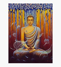 Buddha meditation Photographic Print