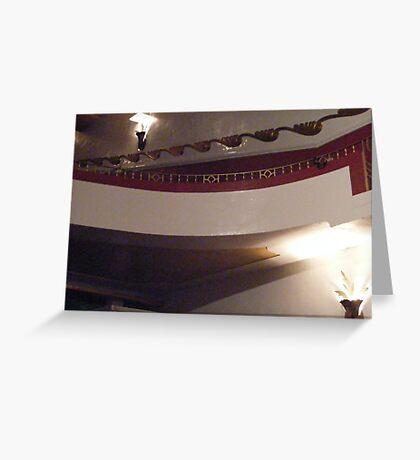 Fox Theater, Salinas, CA Balcony  Greeting Card