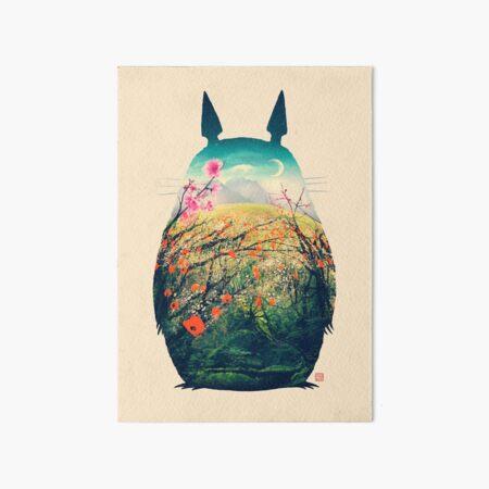 Tonari No Totoro Art Board Print