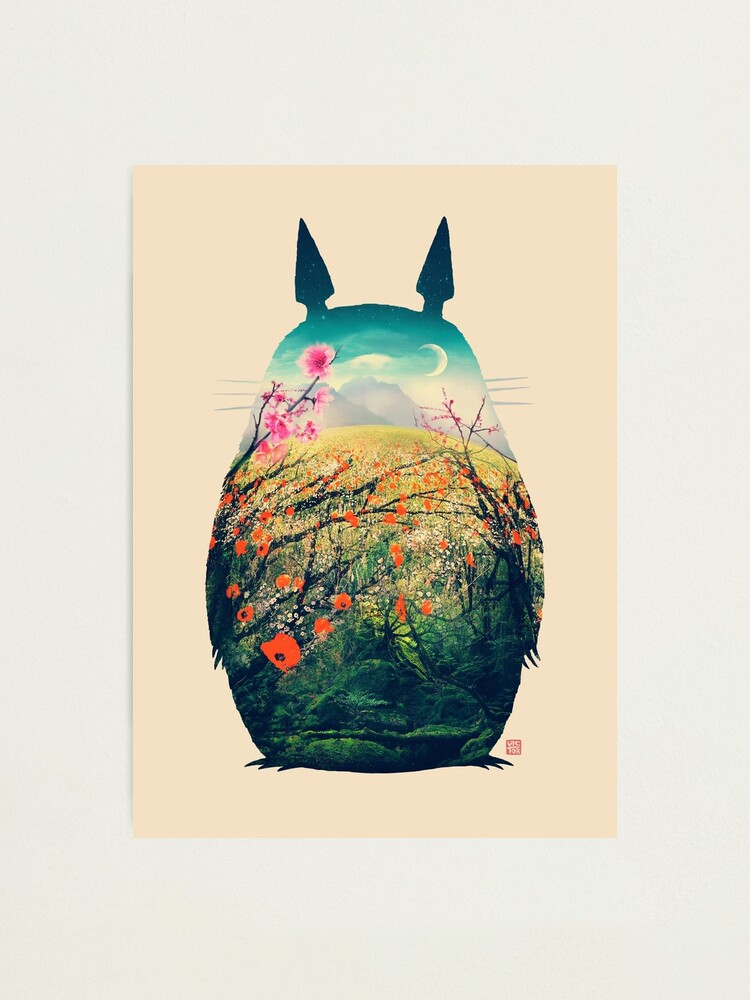 Alternate view of Tonari No Totoro Photographic Print