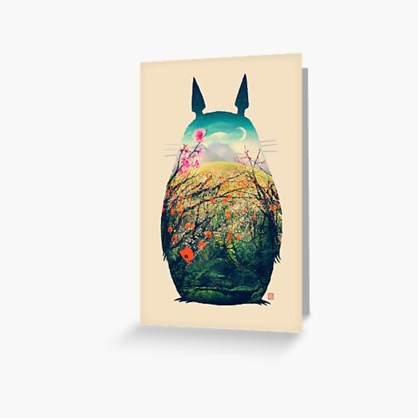 Tonari No Totoro Carte de vœux