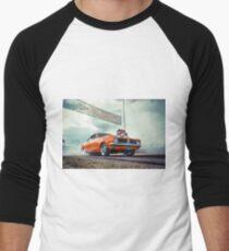 DIZYHG Burnout Men's Baseball ¾ T-Shirt