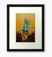 Green Tara Framed Print