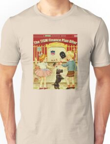 The TISM Finance Plan Offer Unisex T-Shirt
