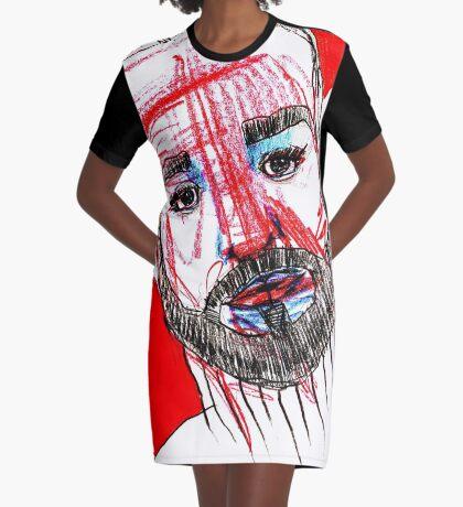 BAANTAL / Hominis / Faces #11 Graphic T-Shirt Dress