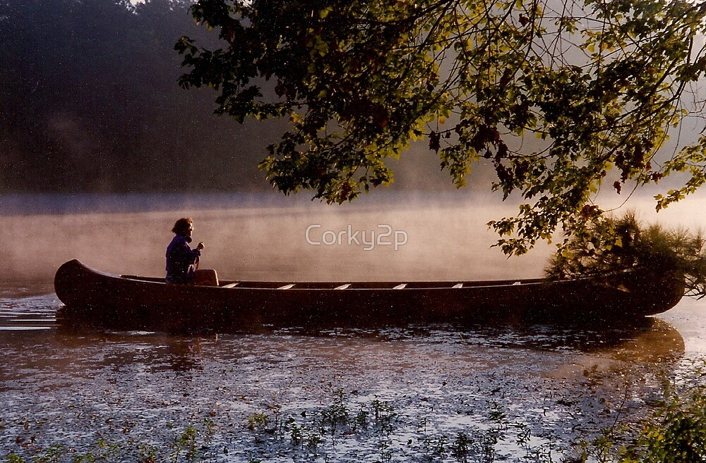 Canoeing on Shadow Lake by Corky2p