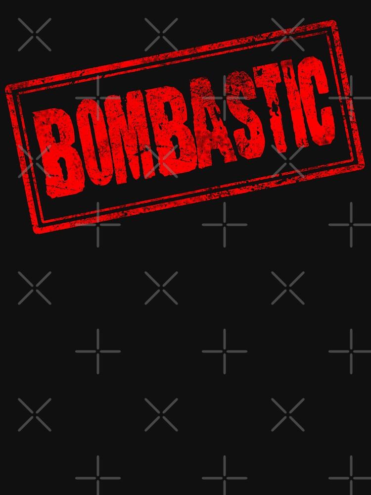 Bombastic (Vintage Retro Stamp) by SassyClassyMe