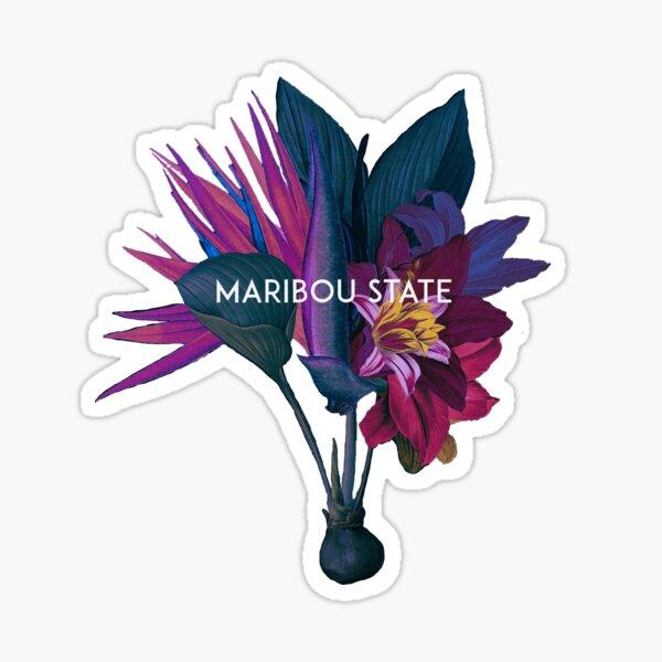 Maribou state flowers  Sticker