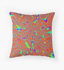 Abstract random colors #3 Throw Pillow