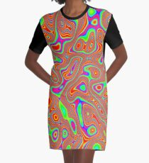 Abstract random colors #3 Graphic T-Shirt Dress