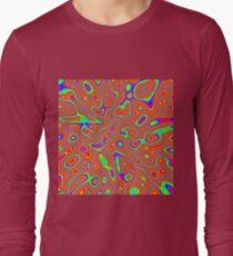 Abstract random colors #3 Long Sleeve T-Shirt