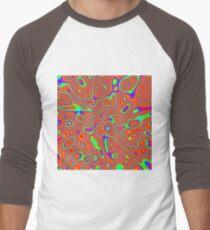 Abstract random colors #3 Baseball ¾ Sleeve T-Shirt