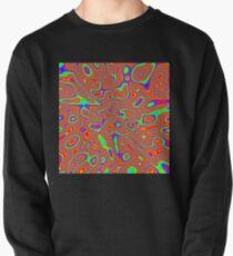 Abstract random colors #3 Pullover Sweatshirt