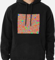 Abstract random colors #3 Pullover Hoodie