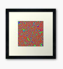 Abstract random colors #3 Framed Print
