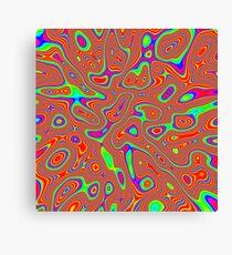 Abstract random colors #3 Canvas Print