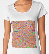 Abstract random colors #3 Premium Scoop T-Shirt