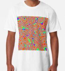 Abstract random colors #3 Long T-Shirt