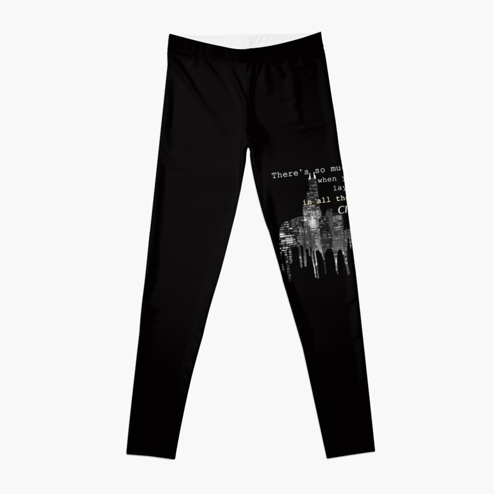 city lights 2 Leggings Front