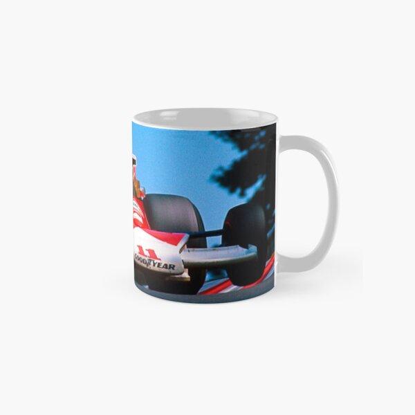 Hill Formula One Car Retro Mug British Classic Clark F1 Stewart Hunt