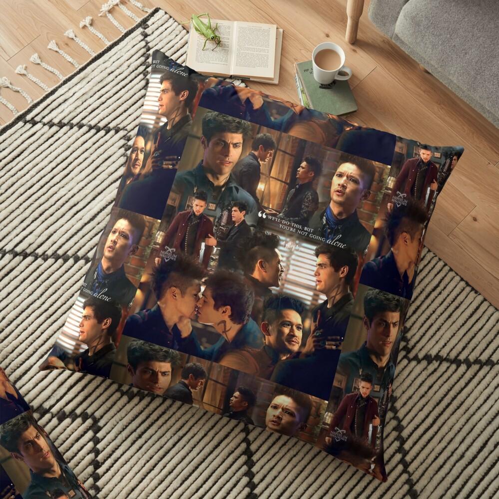 Malec Season 3 Floor Pillow