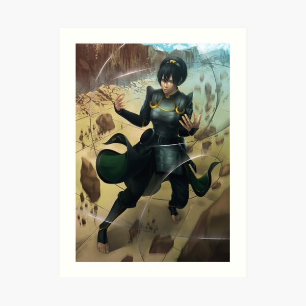 Chief Toph Art Print