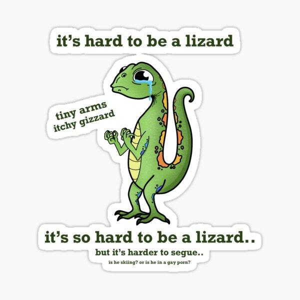 Es difícil ser un lagarto - Bo Burnham Pegatina