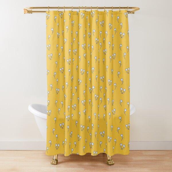 Daisies dancing in sunshine Shower Curtain