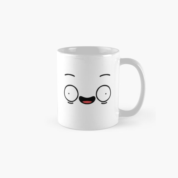 Crazy Face Classic Mug