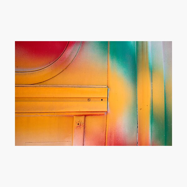 Red Green and Yellow Photographic Print
